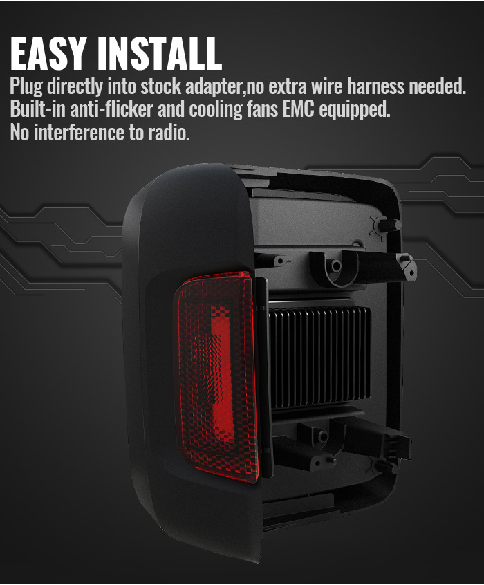 Jeep Jl Led Tail Lights Easy Install