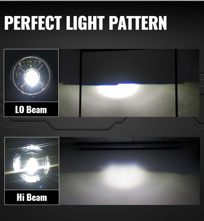 Jeep Jl Led Headlights Light Pattern