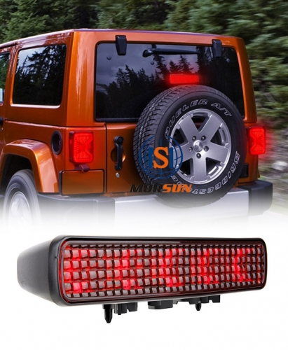 New Arrival 2018 Jeep JL Third Brake Light Jeep Wrangler JL Led 3rd Brake Light 2019 Jeep JL Spare Tire Brake Light