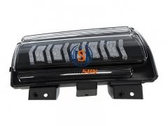 Lampu LED Daytime Running dengan Turn Signal untuk 2018+ Jeep Wrangler Sahara 4-Door Rubicon 2-Door 4-Door