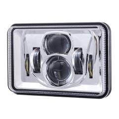 Rectangulaire Peterbilt 379 assemblage de phares à LED DOT SAE 4x6 pouces phares à LED carrés pour Peterbilt 379