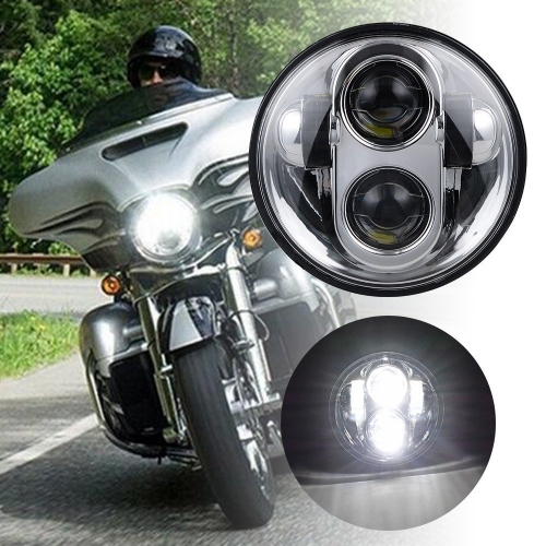 "Cheap 5.75"" Led Headlights for Harley Davidson VRSCD XG XL XR Dyna FLSTS FXCW Motorcycle Accessories"