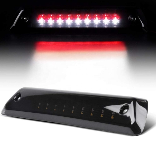 Dual Row Ford F150 Led Tail Lights Clear/Smoke Cover 3rd Third Rear Stop Light for F150 2009 2010 2011 2012 2013 2014
