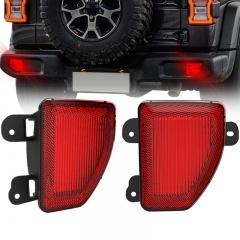 2018 ke atas Jeep Wrangler Lampu Reflektor Lampu Ekor Led Bumper Belakang JL