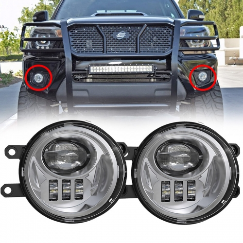 2016 2017 2018 2019 Toyota Tacoma Led Fog Lights Kit Kapalit