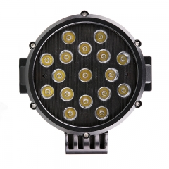 Lampu Offroad Led Bulat 51W 6 inci Jeep Wrangler Off Road Lights Lampu Mengemudi Led Bulat 6 inci