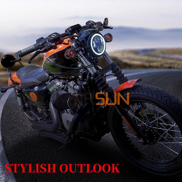 5.75 Harley Davidson Lampu Depan Led