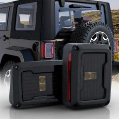 Version US / EU Jeep Feux arrière JK Led Jeep Feux arrière fumés JK