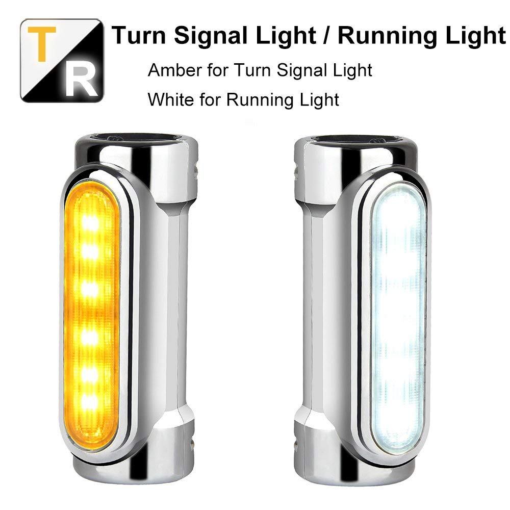 چراغ های خرابی DRL و سیگنال های چرخشی