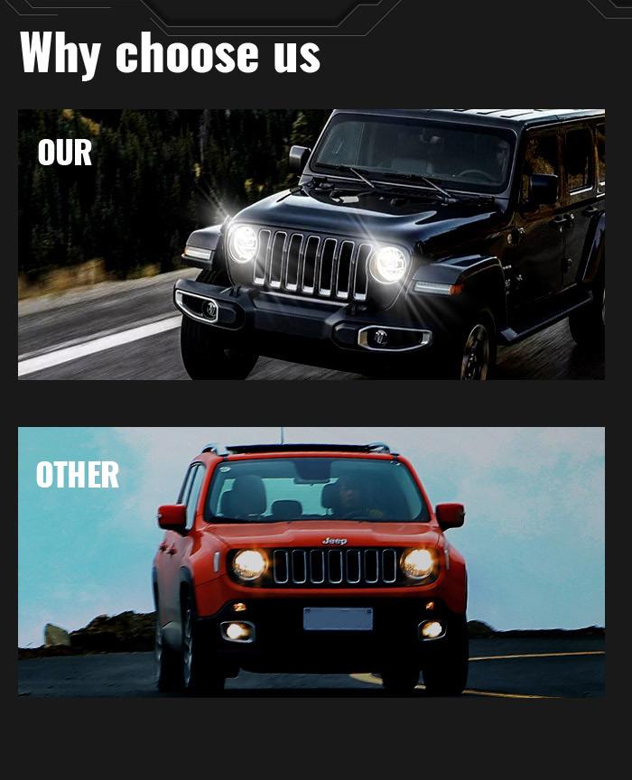 Miks valida Morsun Jeep Jk Oem Led esituled