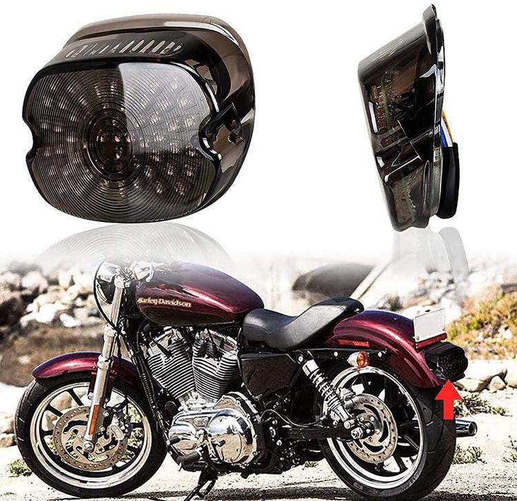 Dritë Brake Led Brake për Motorcycles Harley Sportster Dyna FXDL Electra Glides Road King