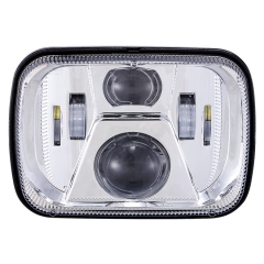 H6054 Led Headlight 5x7 Sealed Beam Penggantian Led H5054 H6054 Jeep xj Peningkatan Konversi Lampu Depan