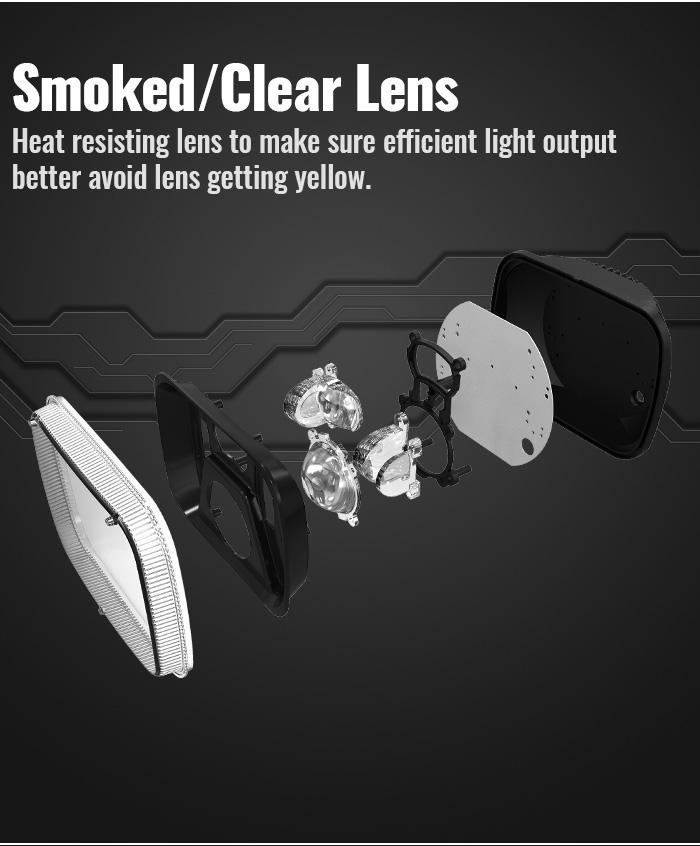 H5054 H6054 Lensa Pengganti Lampu Led