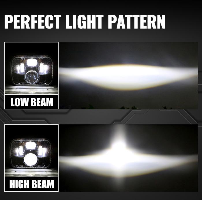 H5054 H6054 Pola Lampu Pengganti Lampu Led