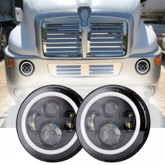 1998-2010 Kenworth T2000 Headlight Assembly Kenworth T2000 Headlights Led Projector Lens