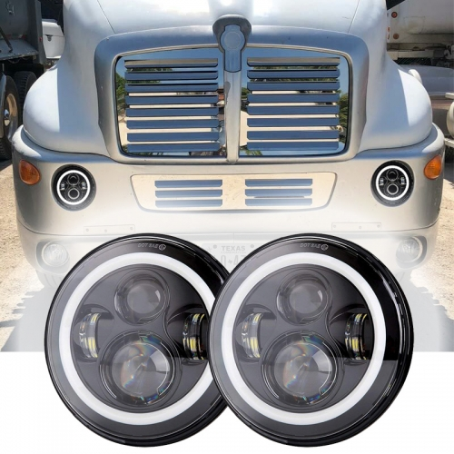 1998-2010 Kenworth T2000 Conjunto do farol Kenworth T2000 Faróis LED Lentes do projetor