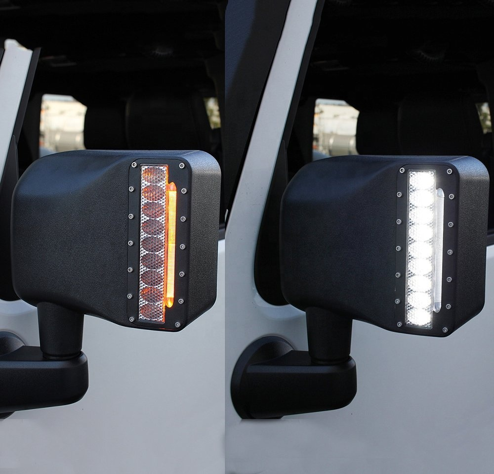 Jeep Kaca spion lampu led JK