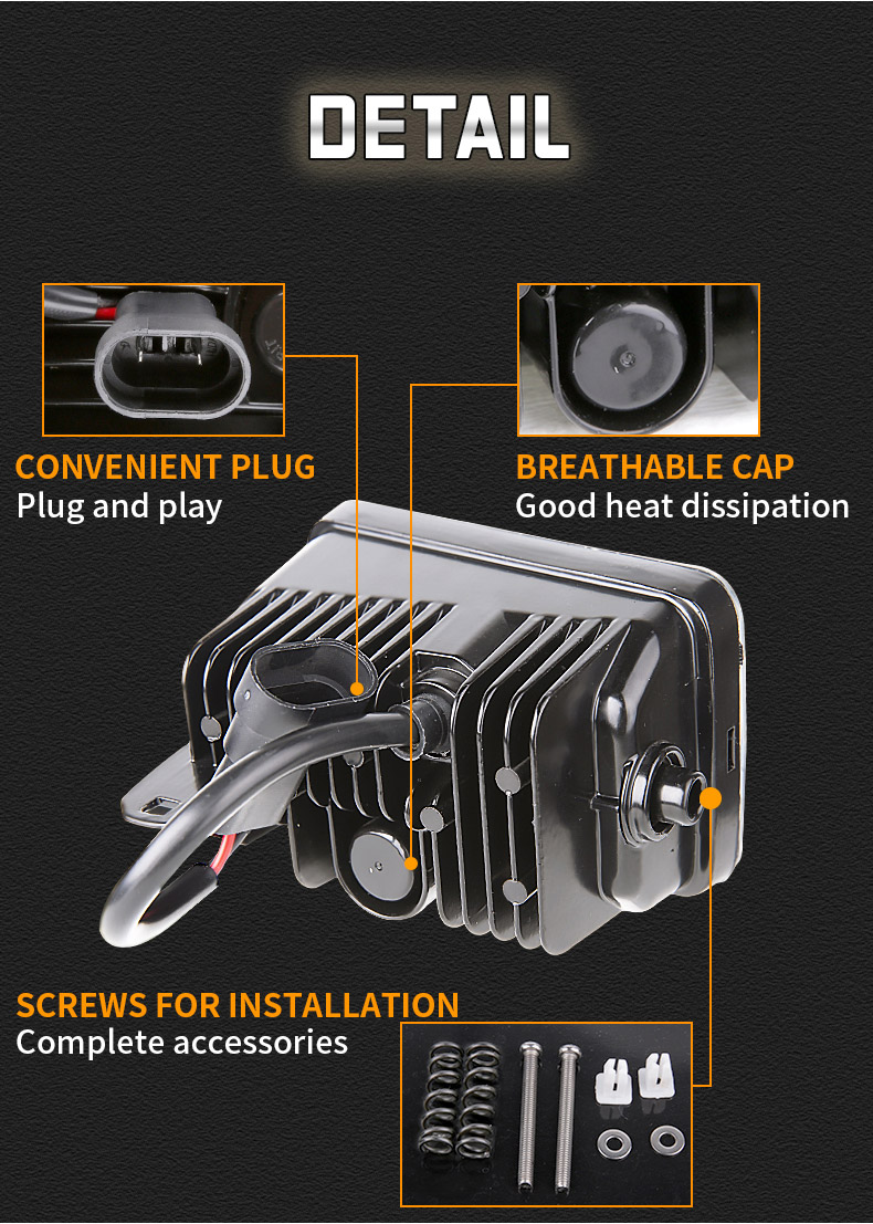 فورد F150A تفاصيل مصابيح الضباب