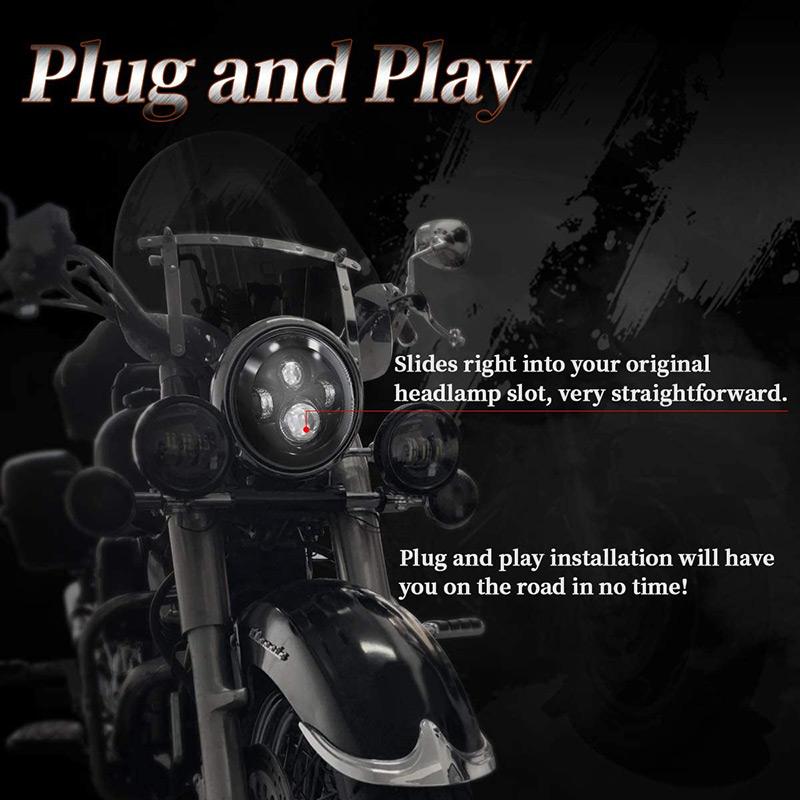plug and play 7 phares à led