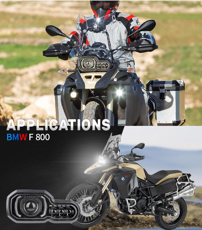 2008-2018 BMW F800GS a mené l'application de phare