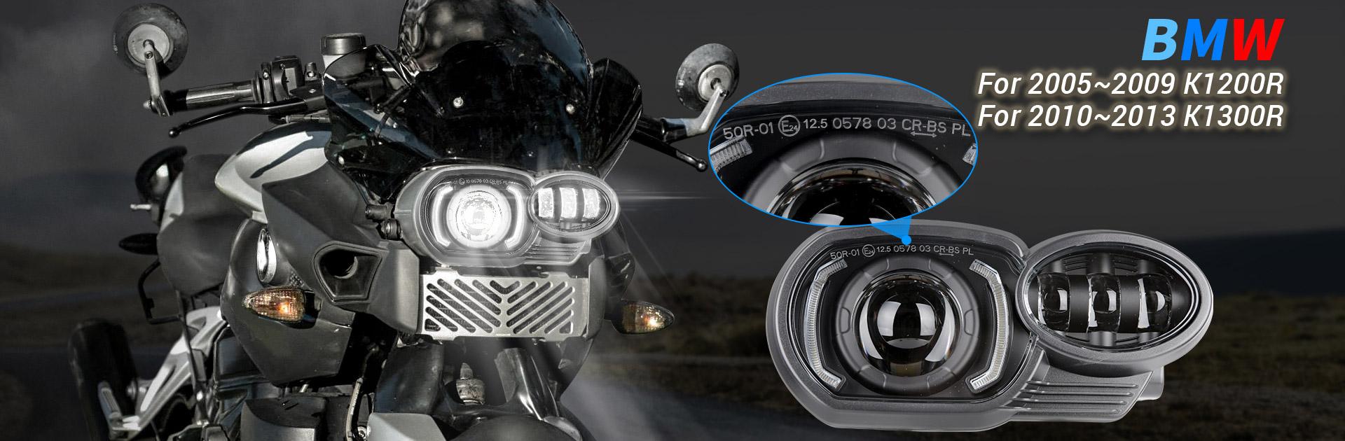 2005-2009 BMW K1200R Led Headlight