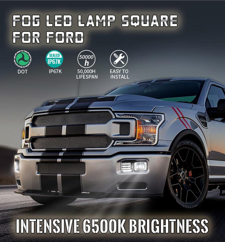 Ford F150 Led Fog Lights Assembly
