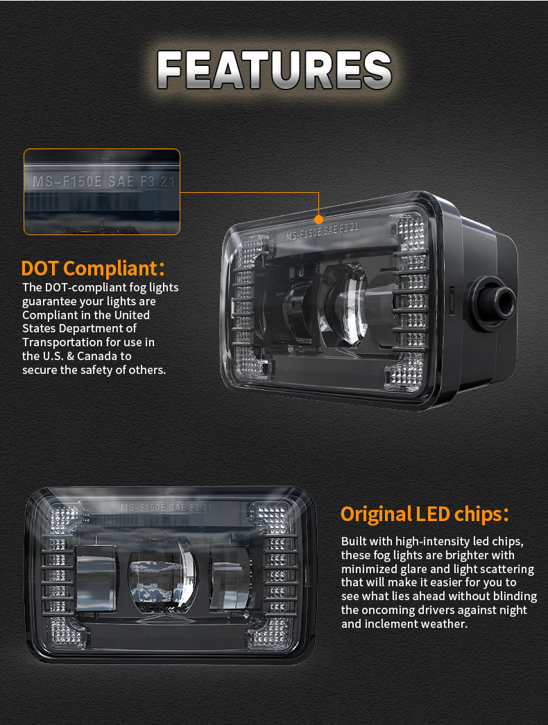Features of Ford F150 Led Fog Lights