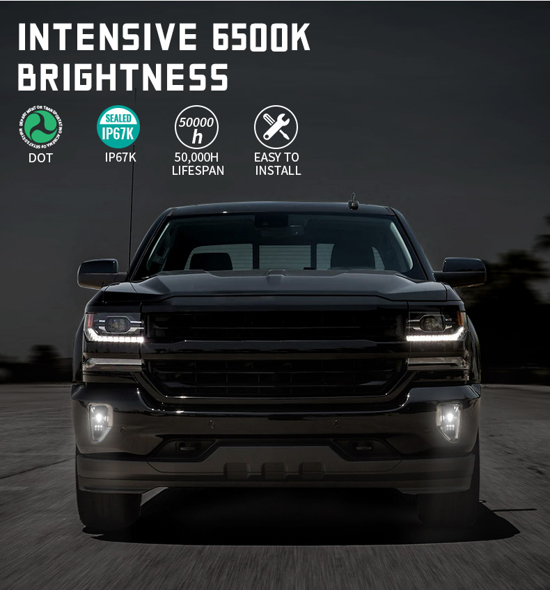 Chevy Silverado 1500 Led Fog Lights Features