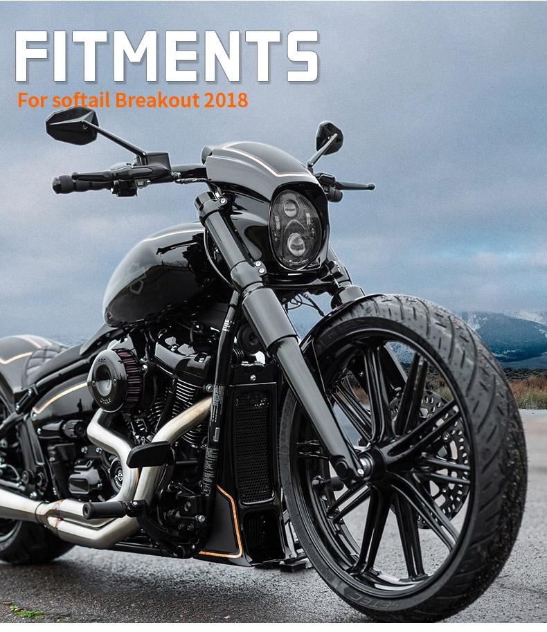 Harley Davidson Lampu Lampu Led Breakout