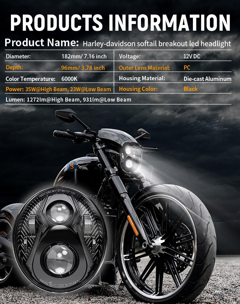 Harley Davidson Spesifikasi Lampu Led Led