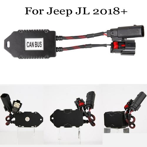 Jeep Wrangler LED լուսարձակների հակաթրթռման ապակոդավորիչ Jeep Wrangler Կարող է ավտոբուսի ադապտեր